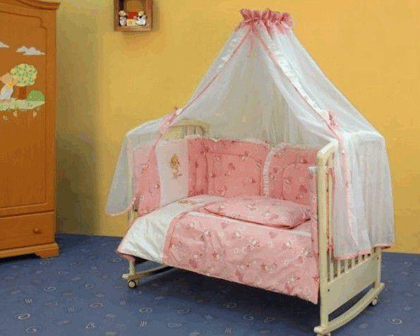 Сложно ли сшить балдахин на детскую кроватку своими руками?