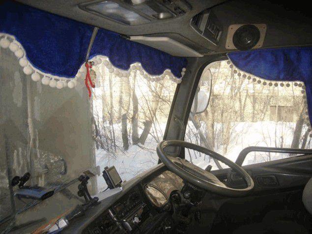 Ламбрекены для грузовых автомобилей: подходим к выбору с умом
