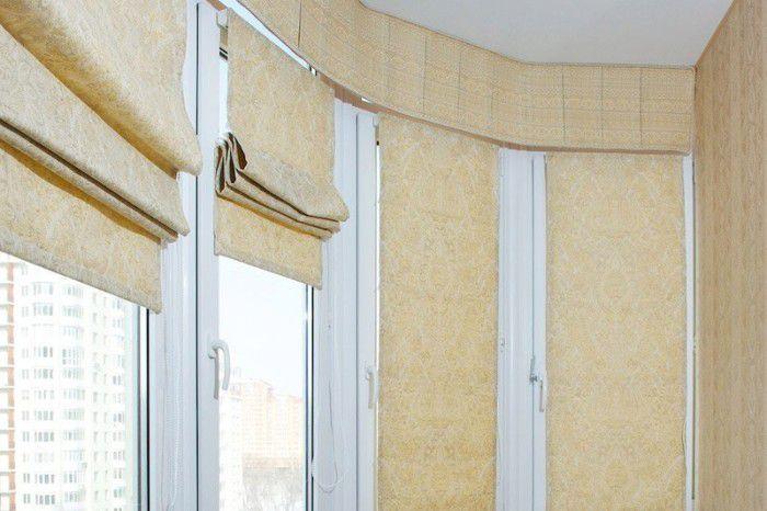 Римские шторы на балкон: как выбрать и не ошибиться