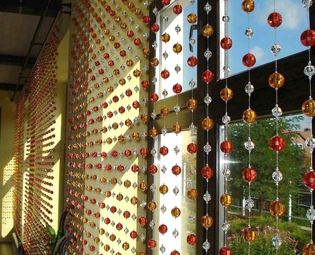 Эксклюзив в интерьере: делаем шторы из бусин своими руками