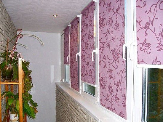 Делаем стильные и практичные шторы на балкон своими руками