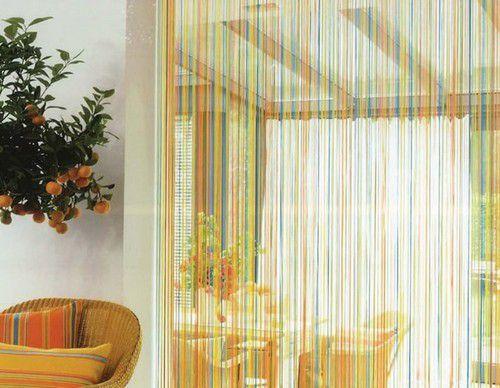 Декоративные шторы: идеальное дополнение на дверной проем