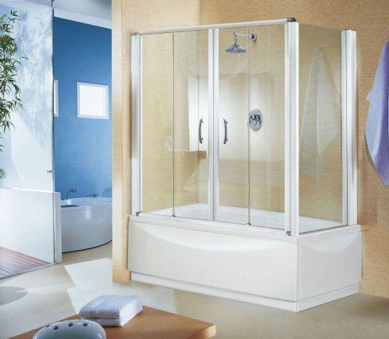 Стеклянные шторы для ванны: особенности, достоинства и недостатки