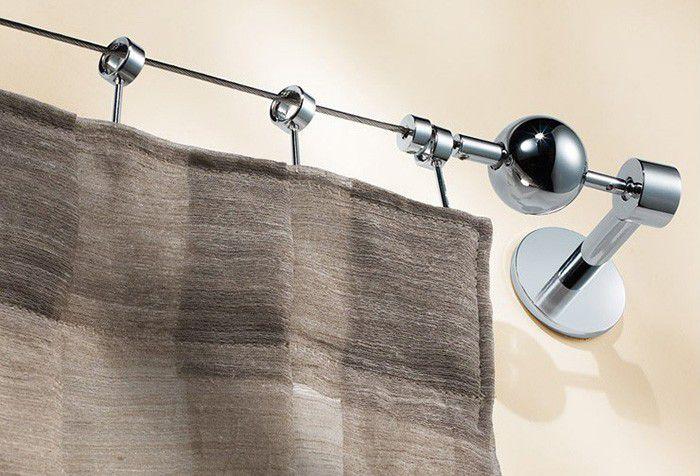 Струна для штор в интерьере: просто, дешево и элегантно