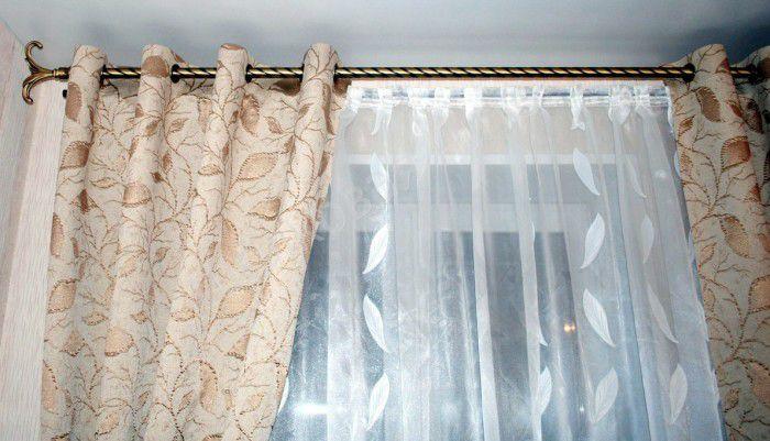 Шьем шторы на кольцах сами: ярко, стильно, просто в эксплуатации