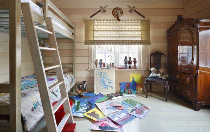 Римские шторы: модные идеи в детскую