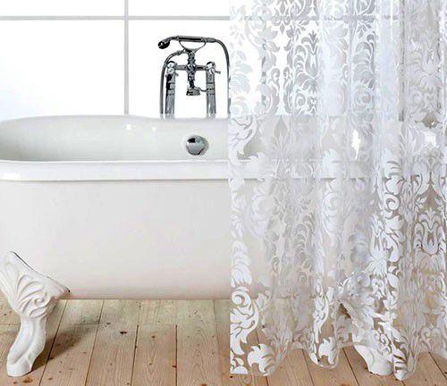 Как эффективно и быстро отстирать занавеску для ванной