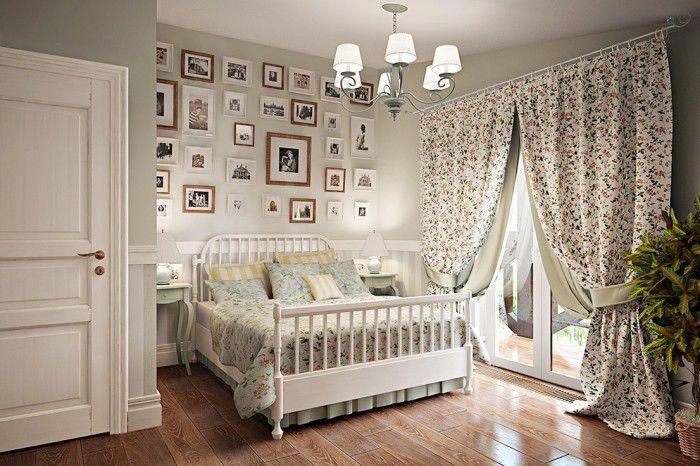 Романтика в интерьере: занавески в стиле прованс для спальни