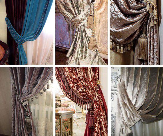 Занавесы, какой длины они должны быть: определяющий фактор стильной шторы