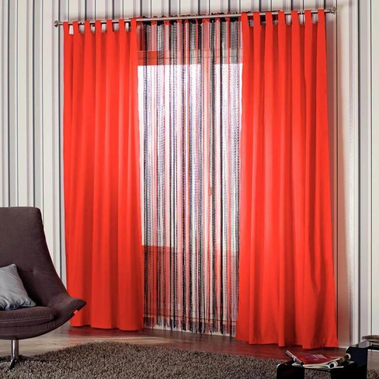 Выбираем шторы в зал без ламбрекена: модные новинки