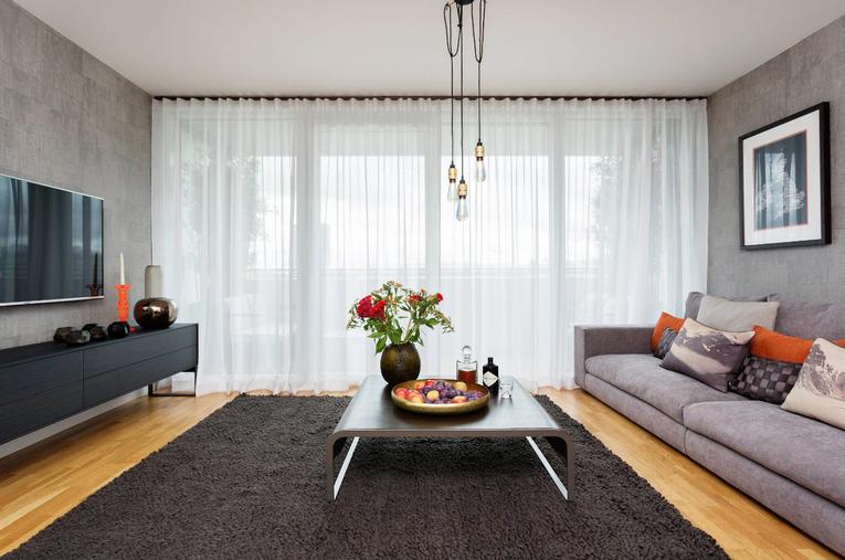 Тюль для гостиной: подборка лучших идей 2019 года