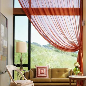Итальянские шторы – элегантный декор окна