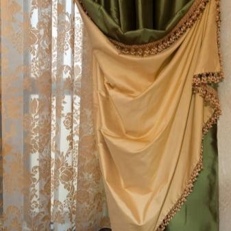 Как красиво повесить шторы?