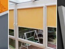 Рулонные шторы с направляющими